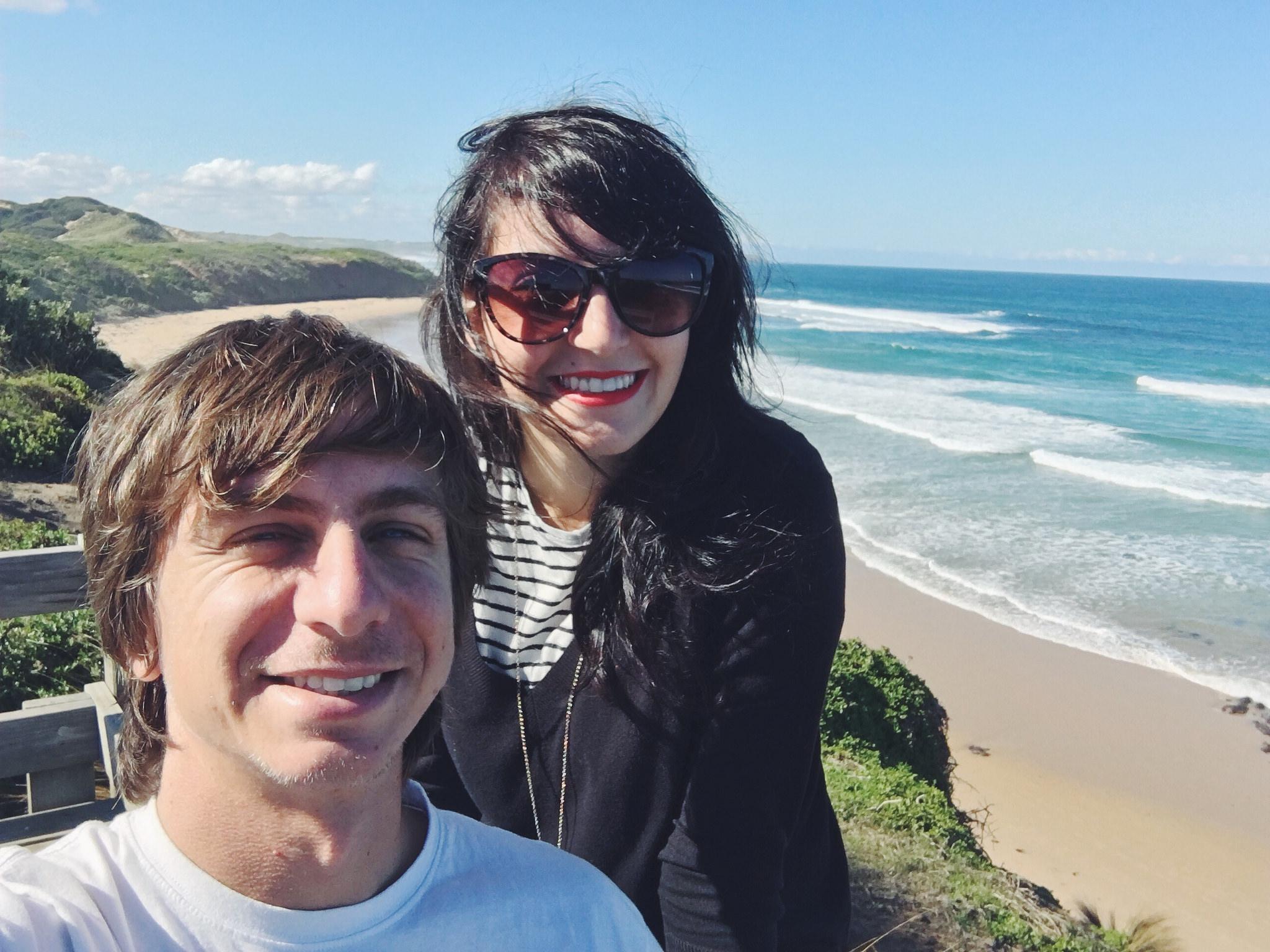praia em phillip island australia
