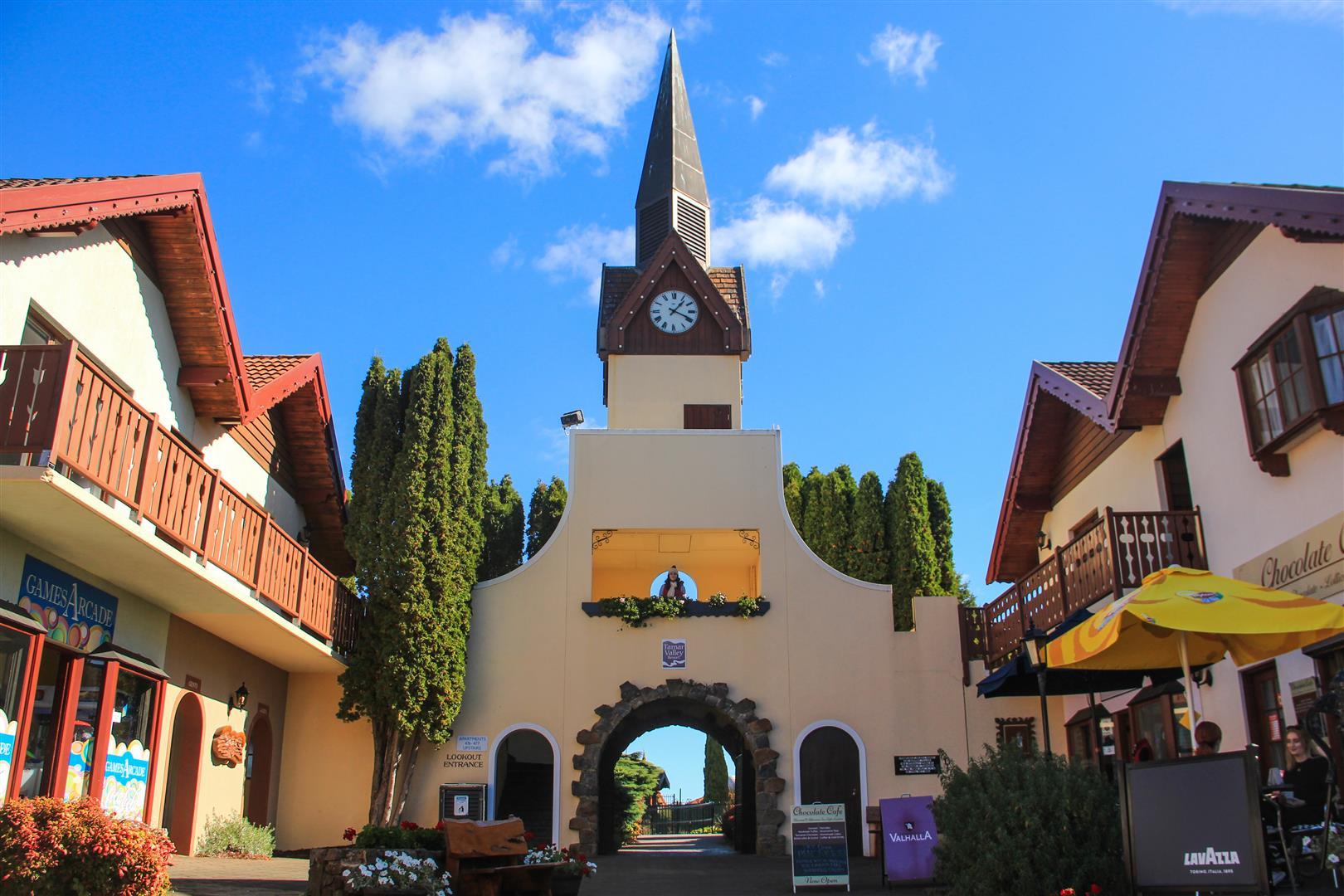 vila suiça prédios típicos