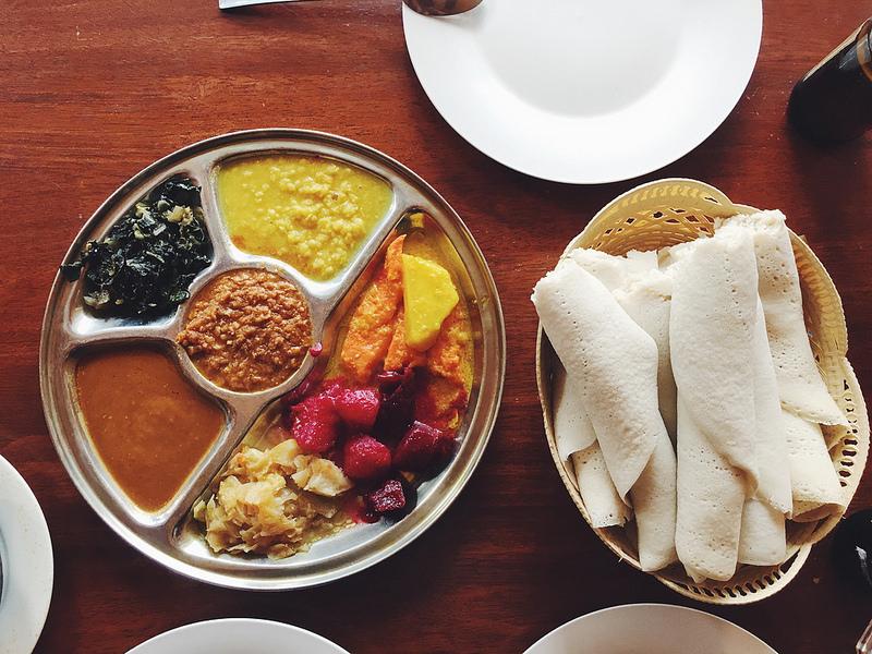 Comida da Etiópia